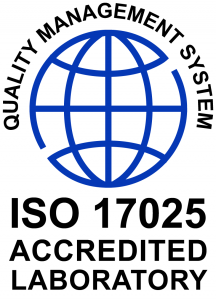 ISO17025 CERTIFIED